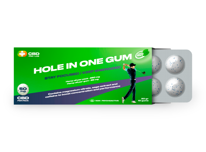 Hole in one Gum